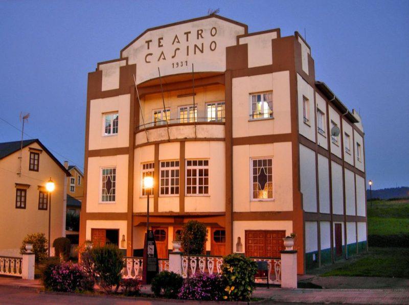 """V Certamen de Teatro """"David Miguel"""", nel Teatro-Casino de Veiga (Navia)"""