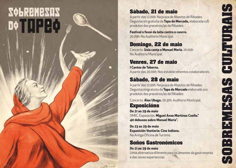 """Los """"Cantos de Taberna"""" animan este XI Ribadeo de Tapeo"""