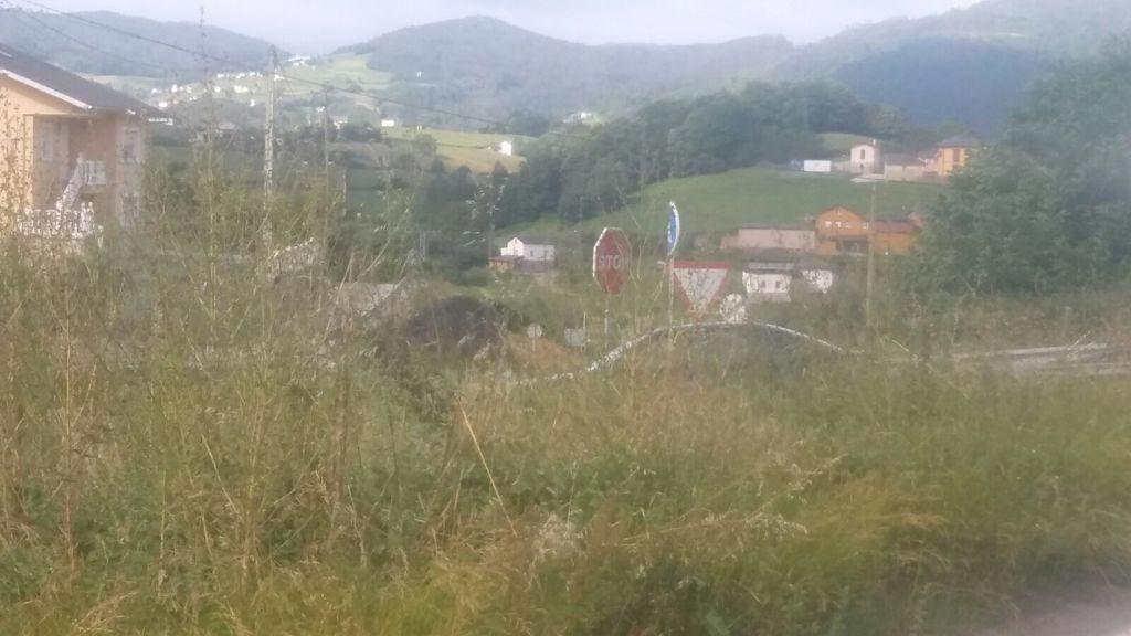 Suárez Cortina (URAS, Valdés) denuncia la mala situación de la carretera y el depósito contra incendios de Villanueva de Trevías