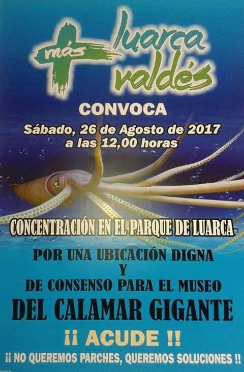 Más Luarca Valdés convoca una concentración para este sábado, 26 de agosto