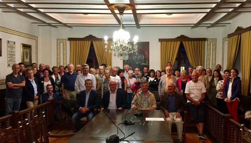 Una delegación de Loctudy visita Ribadeo