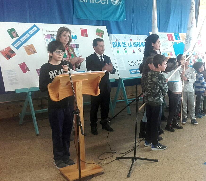 El colegio Príncipe de Asturias de Tapia, Centro Referente en Derechos de Infancia y Ciudadanía Global en Asturias