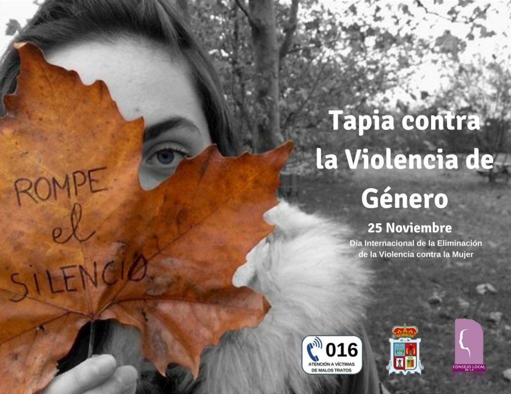 Tapia contra la violencia de género