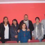 """Adrián Barbón: elegir a Arancha González como secretaria gral. del Psoe en Vegadeo """"es un plus en el mensaje de cambio que estamos trasladando a la sociedad asturiana"""""""