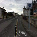 """M. Suárez (concejala de Navia): el carril bici de Puerto de Vega es """"para ir al colegio y volver de él"""" y se hizo """"según informes de los técnicos municipales que entienden del tema"""""""