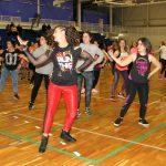 La Master Class de Zumba de Tapia recauda más de 1.200 euros para ADINORA