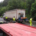 Fallecen tres personas en un accidente de tráfico en la N-640, en San Tirso de  Abres