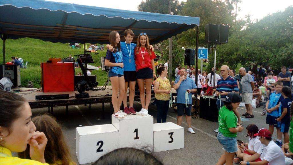 Cinco podiums para el Club Albiones en el Trofeo Ayuntamiento de Colunga